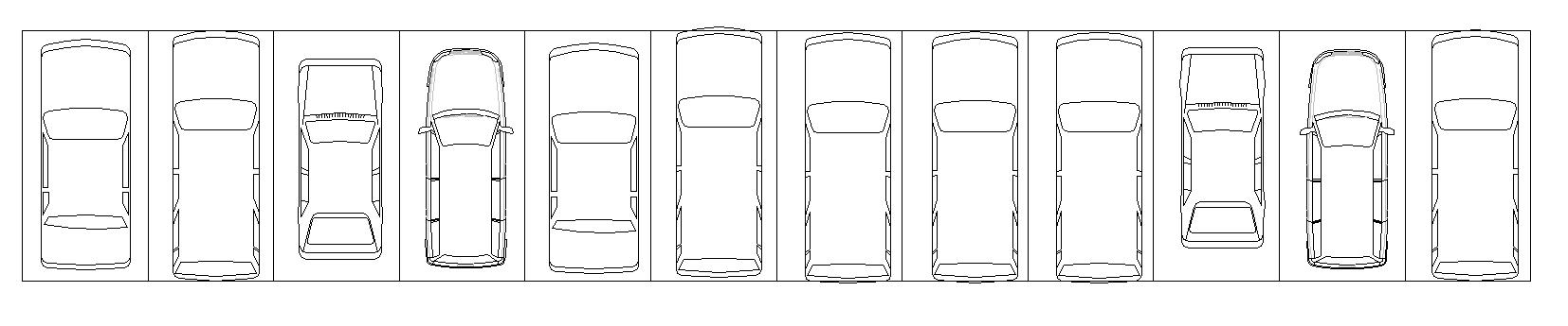 blocos de carros para autocad