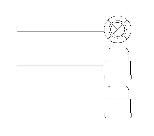 CHUV – bloco de chuveiro  tool arcadd -> Bloco De Pia De Banheiro Para Autocad
